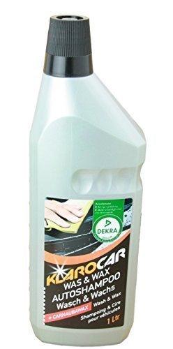 Preisvergleich Produktbild KlaroCar DEKRA geprüft Wasch Und Wachs Autoshampoo, 1 Liter