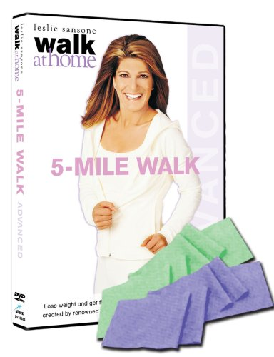 Leslie Sansone\'s Walk At Home - 5 Mile Walk (With Fitness Band) [DVD] (2007) (japan import)