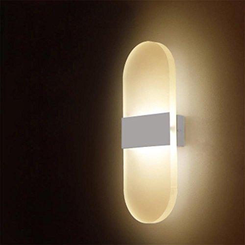 z@ss Moderno vetro organico corridoio, camera da letto, soggiorno Applique , d - Singole Organico