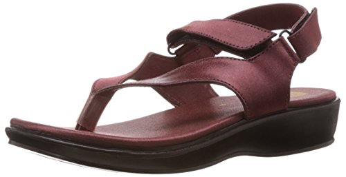 Ziva Fashion Women's ZFF 158 Cherry  Fashion sandals - 6 UK (ZFF 158)  available at amazon for Rs.99