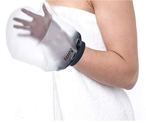 Wasserdichter Gips-und Verbandschutz beim Duschen/Baden,Aozzy wiederverwendbare Gipsbeutel, Geeignet für hand Wundverbrennung handgelenk für Männer und Frauen
