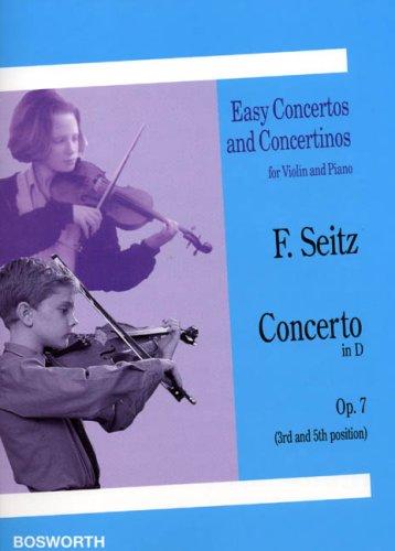 Concerto N°1 en Ré Maj. Op.7 - Violon