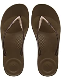 4e473bf5a970f1 Amazon.co.uk  Brown - Flip Flops   Thongs   Women s Shoes  Shoes   Bags