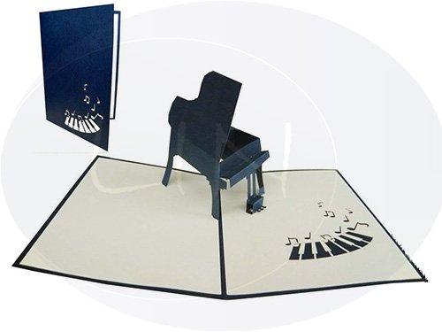 POP-UP-3D-Grukarte-Glckwunschkarte-Geburtstagskarte-Gutschein-Piano-blau-neu-129