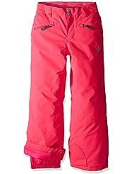 Spyder Niños Girl 's Vixen Tailored Pantalón, otoño/invierno, infantil, color rosa, tamaño 16