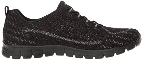 Skechers EZ Flex 3.0 Estrella Women's Trainers fitness Air Cooled Slip on Nero