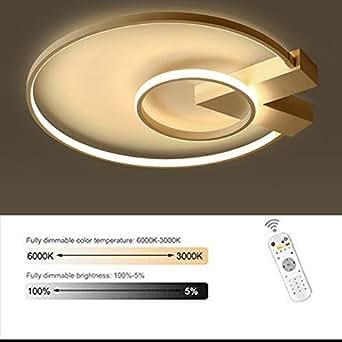 Moderne led runde deckenleuchte minimalistischen 2 flammig for Wohnzimmerleuchte decke