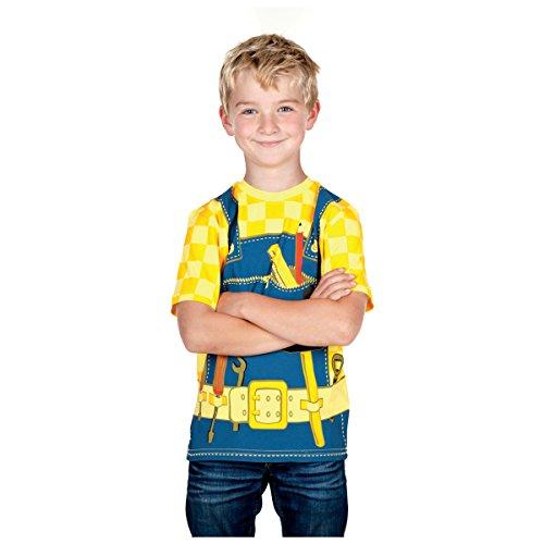 Bauarbeiter Kostüm Kinder - Kidsshirt T-Shirt