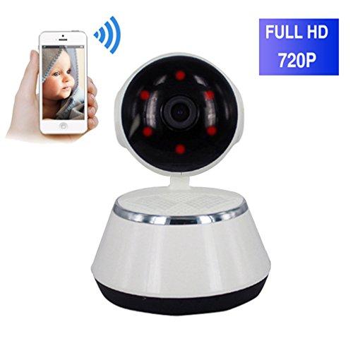 ShengyaoHul 720P HD Indoor Moniteur Vidéo Pour Bébé, 1 Mp Système De Sécurité Ip Home Camera / Affichage À Distance / Appareils Panoramiques / Points Chauds Intégrés De L'Ap Caméra Surveillance Ip