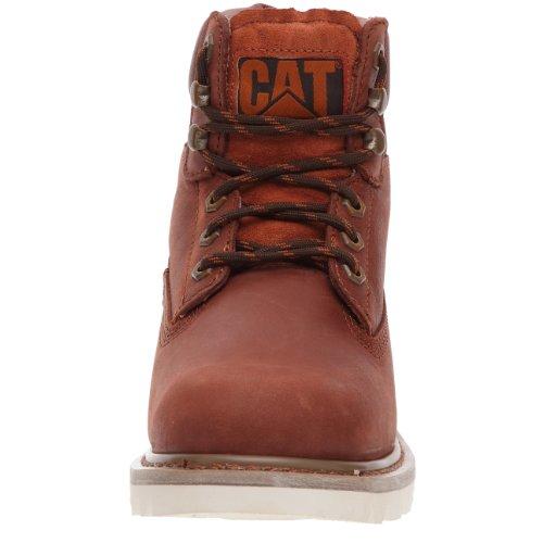 Caterpillar - P710652 - Colorado - Bottes Courtes  - Homme Rouge (Brick)