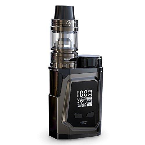 iJOY Capo 100 Box MOD Huge Vapour Electronic Cigarette Vape Vaporizer, 100 W