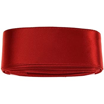 Red Satin Ribbon - 3mt - 25mm