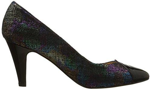 Atelier Mercadal Vanina, Damen Pumps Multicolore (Multiverde/Charol Negro)
