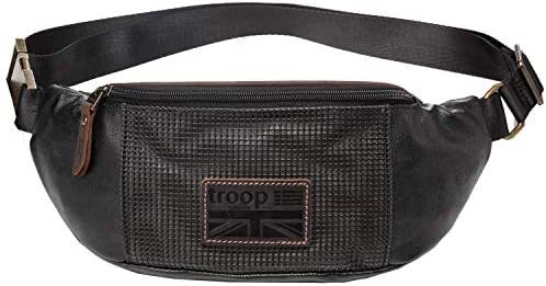 Troop London TRP0461 - Marsupio in in in Tela per Uomo e Donna, per Viaggi e Vacanze, Unisex, Nero, H14 X W33 X D6.5CM B07MG4W6FX Parent | Nuovo design diverso