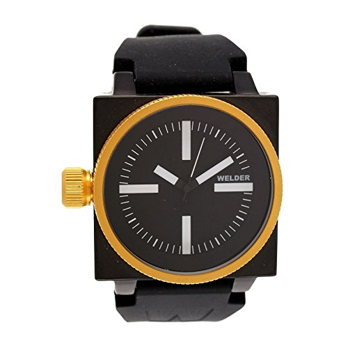 Coffret reloj Welder hombre K-26modelo Data negra, dorada y blanca–5101K26