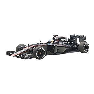 AUTOart- 18121–Mclaren Honda mp4-30–GP Barcelona 2015–Noir–Echelle 1: 18