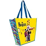 The Beatles 'Yellow Submarine' Large Recycled Shopper Tote