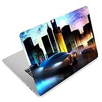 City Car 12. 1 13 13. 3 14 15 15. 4 15. 6 بوصة ملصق جلد محمول مخصص ملصق شامل للنوت بوك الجلد قابل لإعادة الاستخدام الكمبيوتر المحمول فن صائق غطاء حماية من AORTDES
