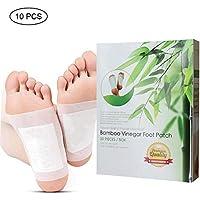 Aolvo Entgiftungs-Fuß-Pads aus Bambus, Essig-Pads, entgiftet Giftstoffe, Stressabbau, verbessert den Schlaf und... preisvergleich bei billige-tabletten.eu