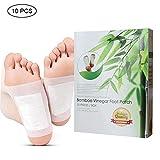 Foot Patches, Kobwa Pure ingredienti naturali Detox Foot Pads per assistenza sanitaria circolazione promozione e affaticamento allevia (10Patches)