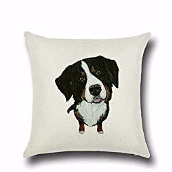 Square Cushion Cover, Cartoon Pillow Fashion Pet Dog Pillow Case 45cmx45cm By Kavitoz from Kavitoz