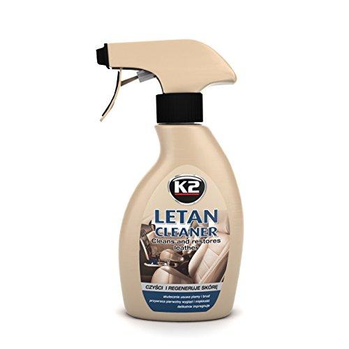 K2–Leder Pflege, Reiniger & Balsam, Sehr gut verarbeitbar, Peak Geruch, Flasche mit Zerstäuber 200ml (K2 Jacke)