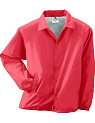 Augusta Sportswear hombres de nailon COACH chaqueta de/con forro