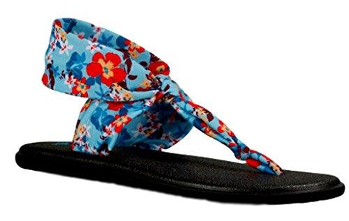 Sanuk Flip Flops/Zehentrenner Yoga Sling Ella Prints (40)