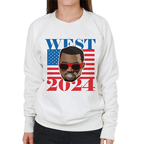 Cloud City 7 Kanye West 2024 President Women\'s Sweatshirt