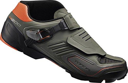 Scarpe da ciclismo unisex adulto Shimano MTB scarpe da ciclismo SH-M200G taglia 48 SPD Klettv./ speed lacing Multicolore, 48, ESHM200C480G