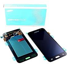 originale Schermo Display LCD Touch Screen Schermo SAMSUNG J3 2016 J320FN J320 Nero SERVICE PACK