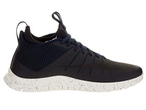 Nike Free Hypervenom 2 Fs, Chaussures de Foot Homme, Rouge, 43 EU Multicolore - Negro / Blanco (Drk Obsidian / Blk-Ntrl Gry-Ivry)