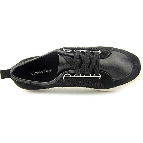 Calvin Klein CK Tanita Femmes Daim Baskets Black