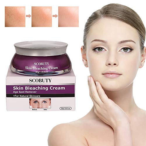 Whitening Cream, Altersflecken Creme, Flecken Creme, Sommersprossen Entfernen, New Anti Melasma Dark Age Spots Sommersprossen Entferner Lightening Face Cream-30g