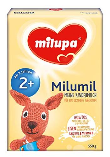 Milupa Milumil Meine Kindermilch 2+ ab 2 Jahr, 4er Pack (4 x 550 g)