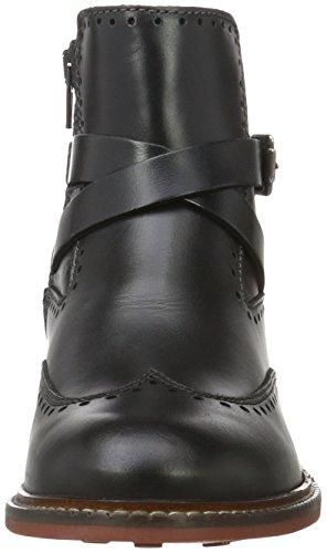 Marc O'Polo Flat Heel Bootie - Bottines femme Gris (Dark Grey 930)