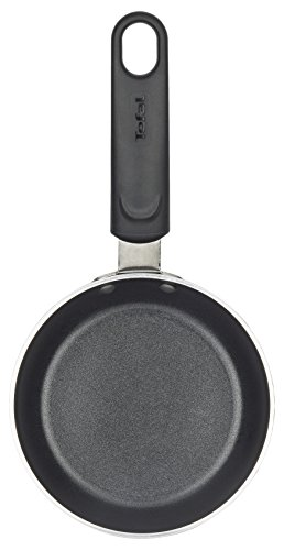 Tefal Ideal B36700 Mini-Blini-Pfanne 12 cm, Aluminium, schwarz