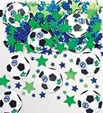 Amscan International Confetti Football/ GOAL