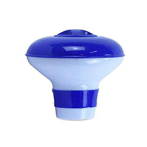 Leegoal - Dispensador de Productos químicos flotantes para Piscina y SPA