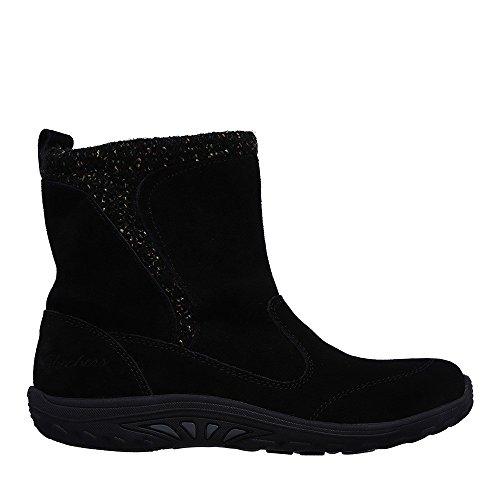 Bottines - Boots, couleur Noir , marque SKECHERS, modèle Bottines - Boots SKECHERS REGGAE FEST FOLKSY Noir