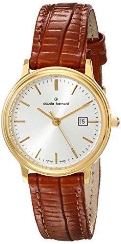 Claude Bernard Women's 31211 37J AID Classic Ladies Gold-Tone Stainless Steel Watch