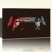 Blues Brothers Canvas Stampa su Tela Poster Blues Brothers