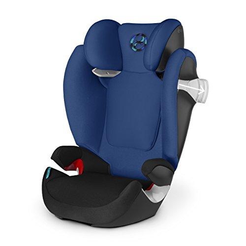 Cybex solution m fix silla de coche grupo 2 3 color rojo - Silla cybex grupo 2 3 isofix ...