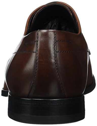 Hugo Square_derb_srls 10197227 01, Derby Homme Marron (Medium Brown)