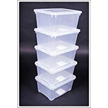 stapelbox mit deckel transparent za91 hitoiro. Black Bedroom Furniture Sets. Home Design Ideas