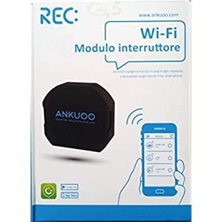 ANKUOO - Wifi switch for lighting control via smartphone REC ANKUOO 4800009