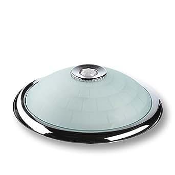 Sweet Led plafonnier chromé avec détecteur de mouvement 360 °, 0,45 W
