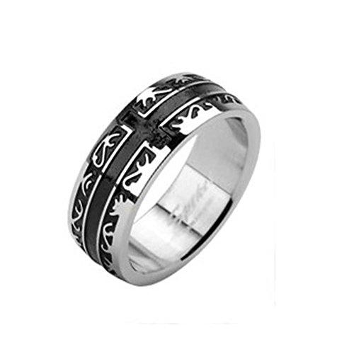 Paula & Fritz anello in acciaio INOX