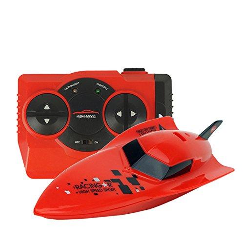 CYNDIE 2.4G barco de velocidad a control remoto barco de juguete a pru
