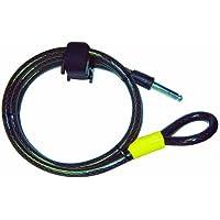 Point Kabel Für Rahmenschloss - Klettband-halterung, schwarz, 150 cm, 12023000